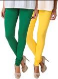 Fasense Women's Yellow, Green Leggings (...