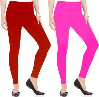 Kamuk Life Women's Red, Pink Leggings