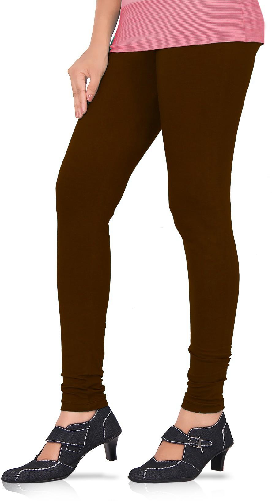 Panno Womens Brown Leggings