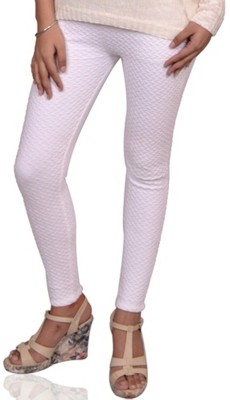 Vama Women's White Jeggings