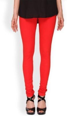 AbsouluteDesi Women's Red Leggings
