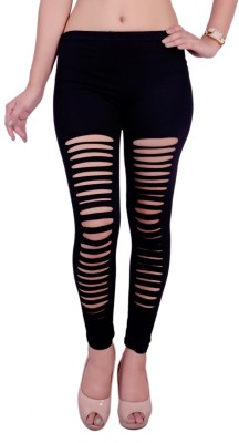 melange fashions Women's Black Leggings