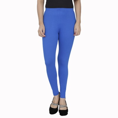 Anekaant Girl's Blue Leggings