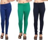 Comix Women's Blue, Green, Dark Blue Leg...