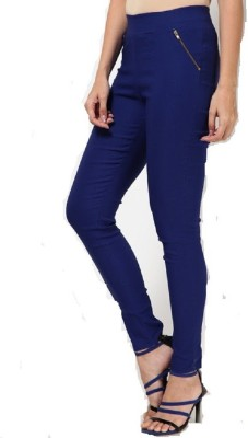 PINK SISLY Women's Blue Jeggings