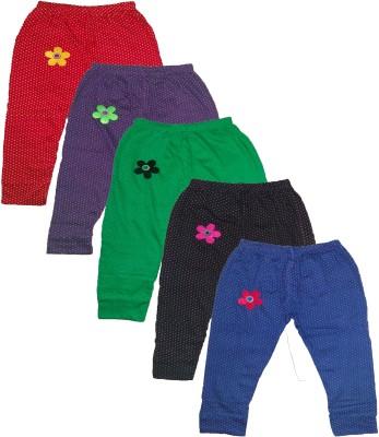 T2F Girl's Multicolor Leggings
