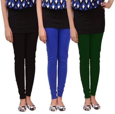 carrol Women's Black, Green, Blue Leggings