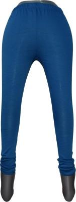 Yumlookup Women's Blue Leggings