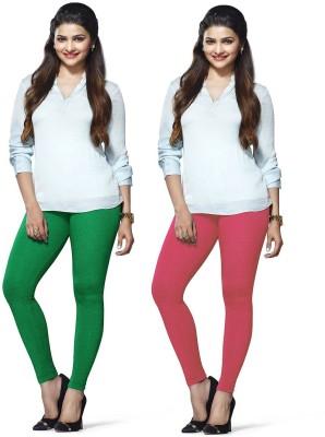 Amul Florio Women's Pink, Light Green Leggings