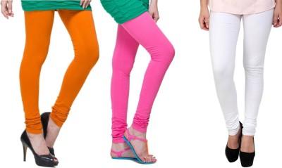 Lienz Women's Orange, Pink, White Leggings