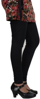 Desi Fusion Women's Black Leggings