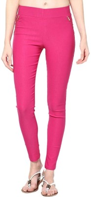 Stylezone Women's Pink Jeggings