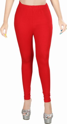 Rivory Bros Women's Red Leggings