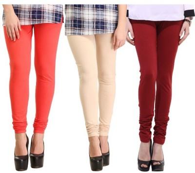 La Firangi Women's Multicolor Leggings