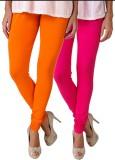 Fasense Women's Orange, Pink Leggings (P...