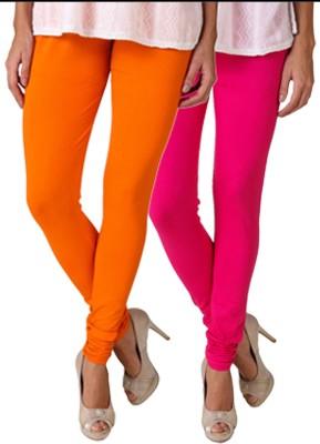 Fasense Women's Orange, Pink Leggings