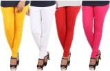 SnowFox Women's Multicolor Leggings (Pac...