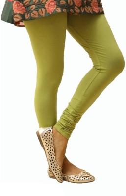 Shiv Fabs Women,s Green Leggings