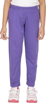 Ocean Race Girl's Purple Leggings
