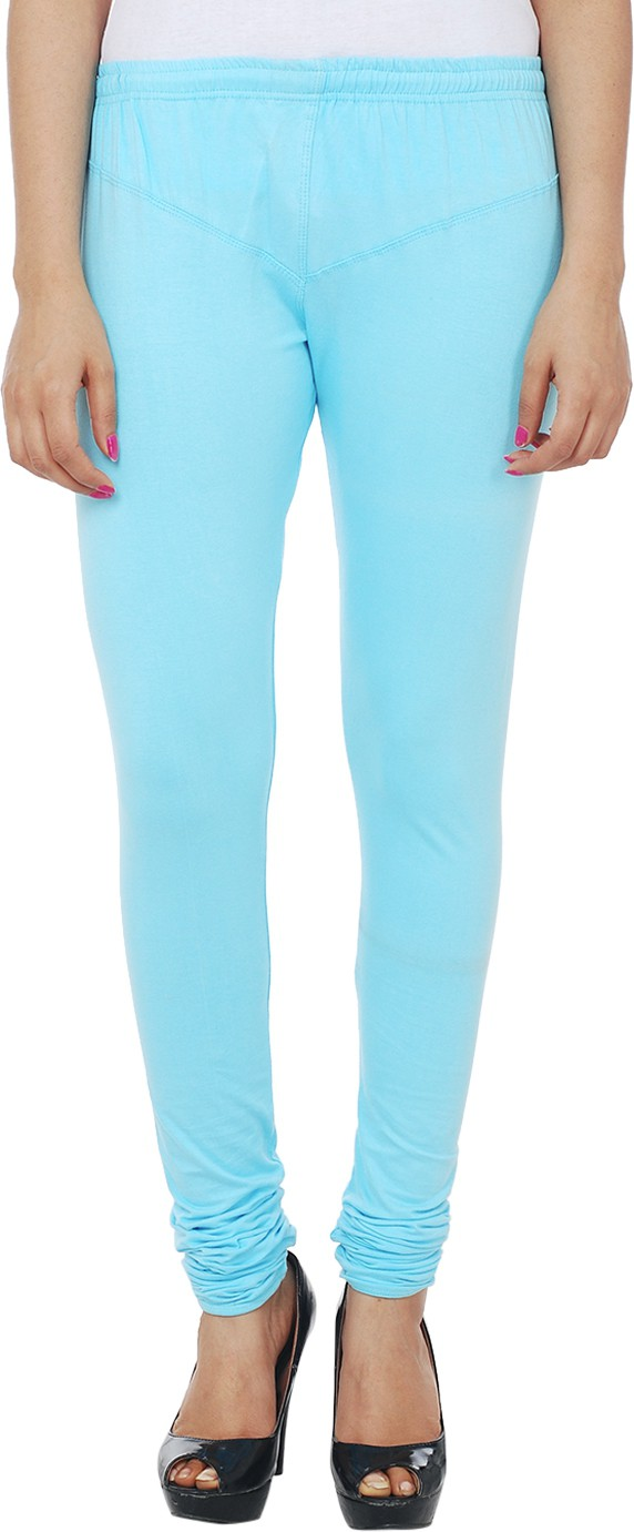 Knitgee Womens Blue Leggings