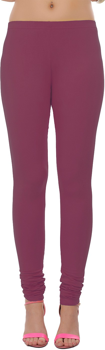Sonari Womens Maroon Leggings