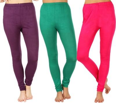SLS Women's Purple, Green, Pink Leggings
