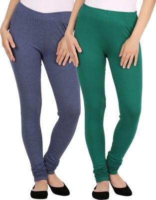 New tastemaker Women's Blue, Green Leggings