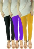 Siyaleggi Women's Black, Purple, Yellow ...