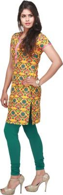 Sukah Women's Dark Green Leggings