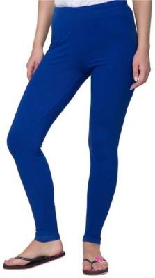 RajeshFashion Women's Blue Leggings
