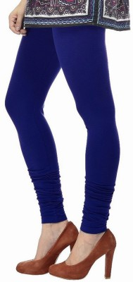shreemangalammart Girl's Blue Leggings
