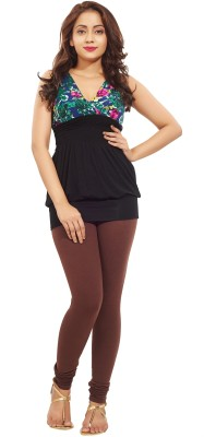 Minu Suits Women's Brown Leggings