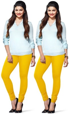 Amul Florio Women's Yellow Leggings