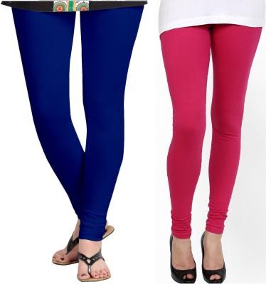 ZACHARIAS Women's Blue, Pink Leggings