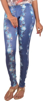 Blueash Women's Blue Leggings