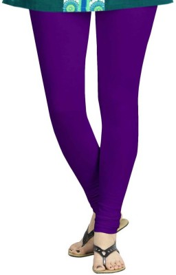 TBZ Women's Purple Leggings