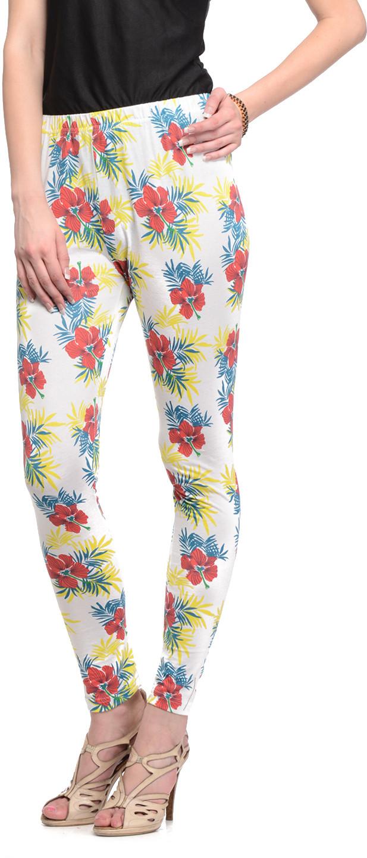 Gritstones Womens Multicolor Leggings