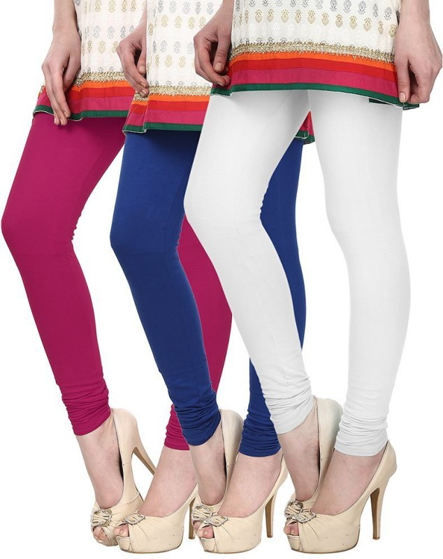 Skyline Trading Women's Multicolor Leggings(Pack of 3)