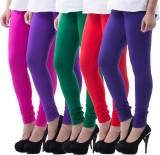 Aashish Fabrics Women's Multicolor Leggi...