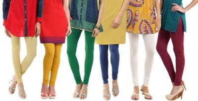 Rashi Women's Beige, Yellow, Dark Green, Blue, White, Maroon Leggings