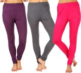 SLS Women's Purple, Grey, Pink Leggings ...