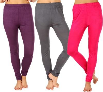 SLS Women's Purple, Grey, Pink Leggings