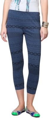 People Women's Blue Leggings
