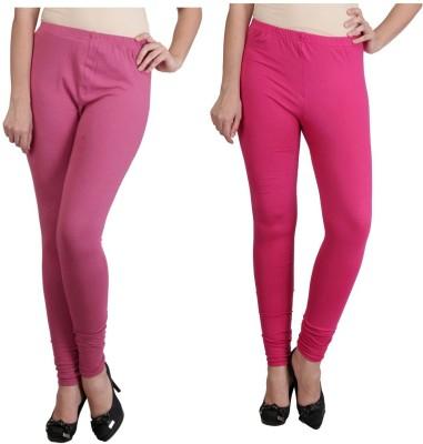 Ahhaaaa Women's Pink, Red Leggings