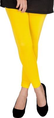 Uzee Women's Yellow Leggings