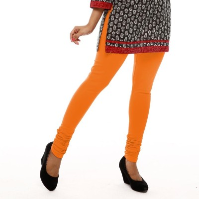Leoma Women's Orange Leggings