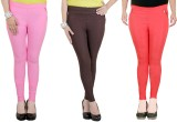 Zrestha Women's Multicolor Jeggings (Pac...