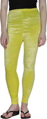 Franclo Women's Yellow Leggings