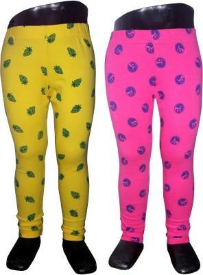 Sagi Girl's Multicolor Leggings