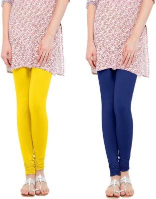 Miss Olivia Women's Multicolor Leggings